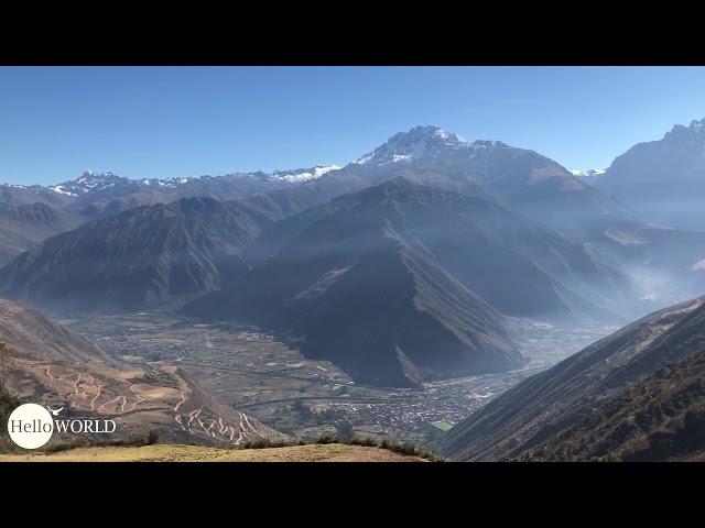 Blick ins Valle Sagrado, Peru