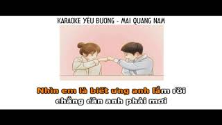 ||Karaoke Nữ|| Yêu Đương - Osad ( Mai Quang Nam) (Beat Dizzla D)