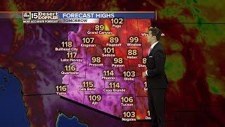 Heat streak continues through Sunday