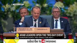 First joint Euro-Arab summit: About 20 Europeans attend summit