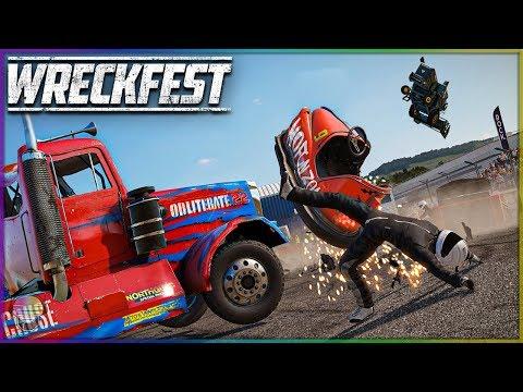 BUMPER CAR BATTLE! | Wreckfest