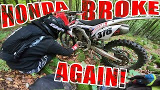Motorcycle Accident - Dirt Biker Crashed His Honda!