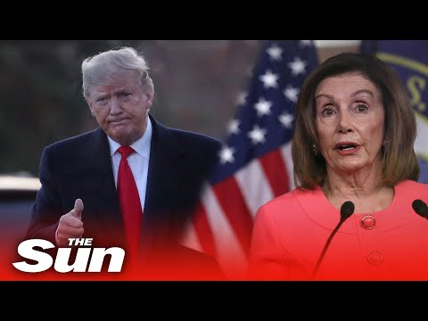House Speaker Nancy Pelosi holds news conference to announce Donald Trump impeachment managers