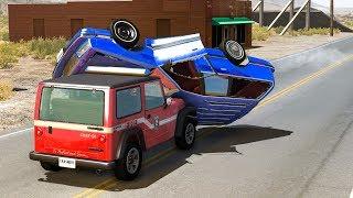LOSS OF CONTROL CAR CRASHES #14 - BeamNG Drive Crashes