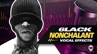 [FL STUDIO] 6LACK   NONCHALANT (VOCAL PRESET) STOCK PLUGINS