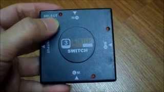 ugreen hdmi switch 4k 3 ports hdmi switcher hub splitter