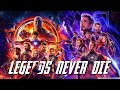 Legends Never Die | End Game And Infinity War Together | 4K