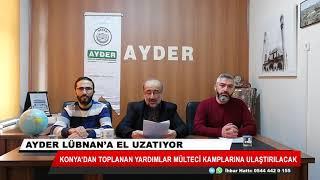 Konya'dan toplanan yardımlar mülteci kamplarına ulaştırılacak