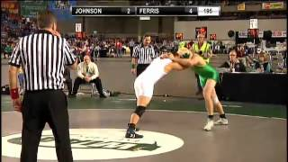 195 lbs. Class 3A Matchup from the 2012 WIAA Wrestling Championships