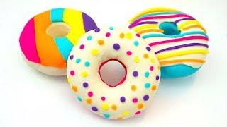 Смотреть онлайн Урок лепки из пластилина Плей До для детей