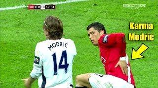 Cristiano Ronaldo Shuts Up Luka Modric After He Provoked Ronaldo #Instant karma