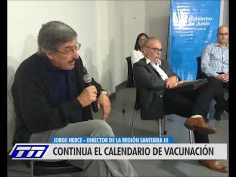 CONTINUA EL CALENDARIO DE VACUNACIÓN