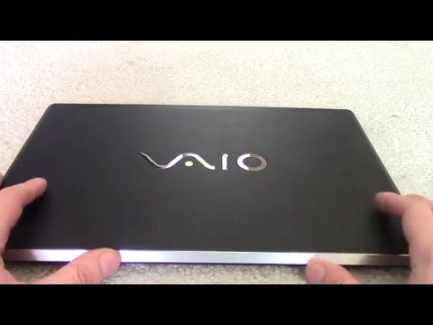Vaio S (NEW 2016 model) ultrabook review - Is this the lightest business notebook?