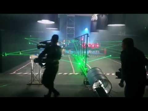Відео Лазерний лабіринт 1