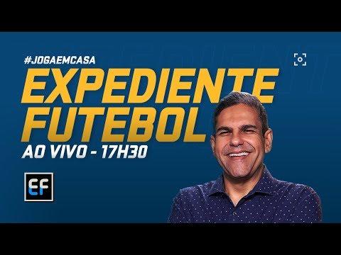 EXPEDIENTE FUTEBOL AO VIVO! João Guilherme e cia. chegam com as novidades do mundo da bola