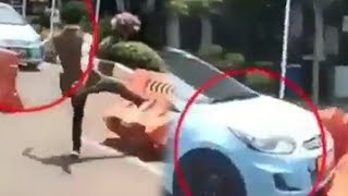 Video Viral Pencuri Taksi di Bandara Husein Sastranegara, Dikejar Warga lalu Masuk Kantor TNI AU