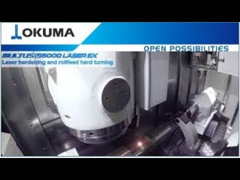 MULTUS U5000 LASER EX Laser Hardening and rollFEED® Turning