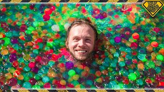 How It Feels To Be 100% Immersed In Giant Warm Orbeez