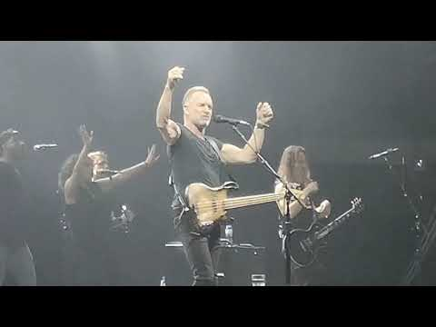 Sting   Englishman In New York live in Sofia Bulgaria 01.06.2019. MY SONGS TOUR 2019
