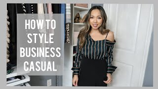 STYLISH BUSINESS CASUAL ESSENTIALS | STYLE