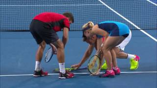 To challenge or not to challenge? - Mastercard Hopman Cup