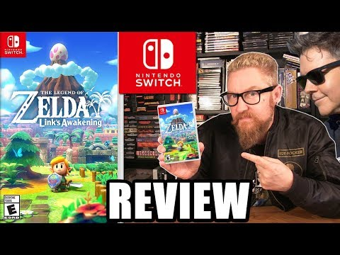 LINKS AWAKENING REVIEW - Happy Console Gamer