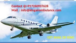 Air Ambulance Service in Allahabad and Varanasi with Medical Team by King
