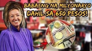 Ang Babaeng Na Milyonaryo Dahil sa 650 Pesos