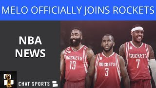NBA News: Rockets Sign Melo, JR Smith Investigation, Nate McMillan Extension, John Wall On The East