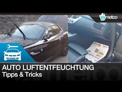 Auto Luftentfeuchtung selber machen | Auto Luftentfeuchter | Autoscheiben beschlagen von innen