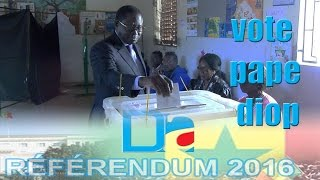Referendum 2016 : Le Vote Pape Diop