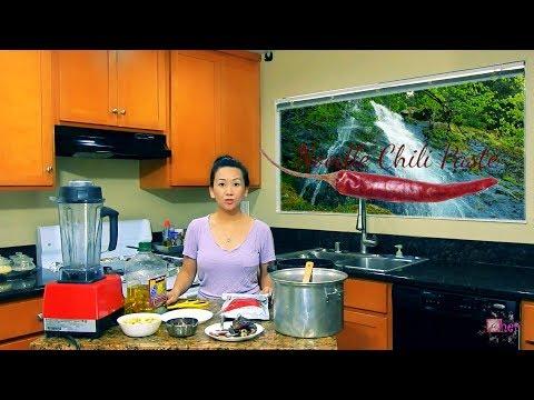 Hmong Food: Noodle Chili Paste/ Kua Txob Khaub Poob