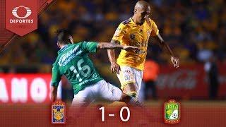 Tigres Toma Ventaja En La Final   Tigres 1 - 0 León   Clausura 2019 - Final Ida   Televisa Deportes