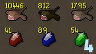 Catching monkfish is easier than I expected - Solo Runescape progress 4