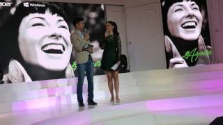 Mikael Daez introduces Megan Young as Endorser of Acer Aspire