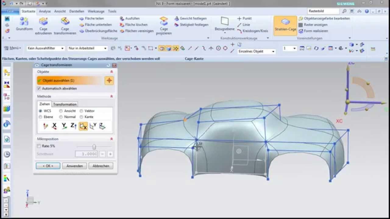 Vorschaubild: NX Tutorial: Subdivision Modeling