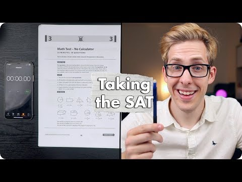 I took the SAT Math Test and this is what happened...