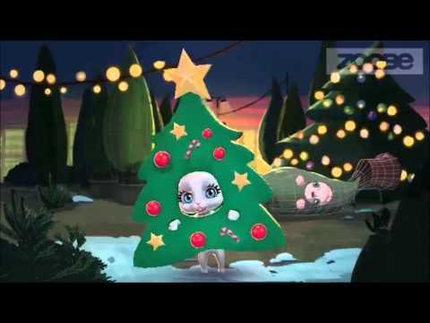 Zoobe Зайка Новогодние игрушки Света (вариант 2)