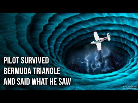 Survivor zegt iets nieuws over het mysterie van de Bermudadriehoek