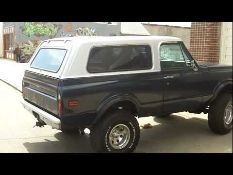 Restored 1972 Chevrolet Blazer Custom 4x4