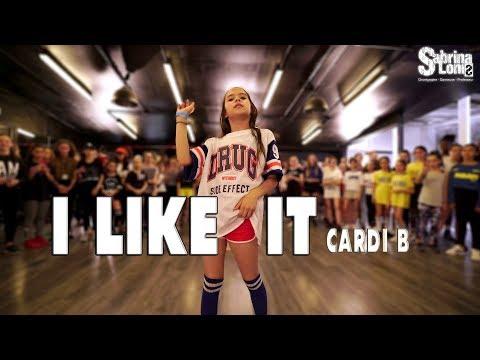 CARDI B – I Like it | Street Dance | Choreography Sabrina Lonis