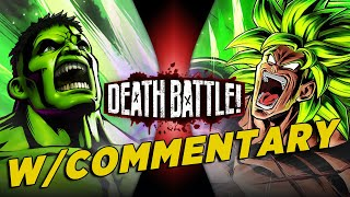 Hulk VS Broly w/ Commentary! by ScrewAttack