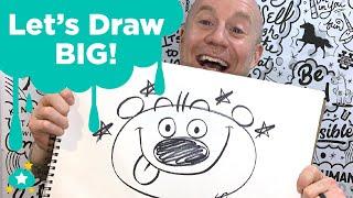 Let's Draw BIG!