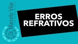 Erros refrativos ou ameropia - Vídeos | Dr. Marcelo Vilar