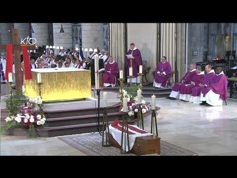 Obsèques du père Hamel à la Cathédrale de Rouen