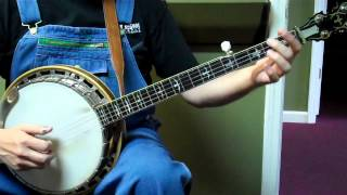 Down the Road - Walk Through and Demo - Bluegrass Banjo