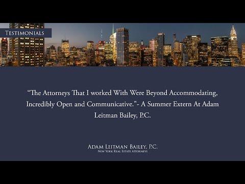 James Mishan – Adam Leitman Bailey, P.C. Summer Extern Testimonial testimonial video thumbnail