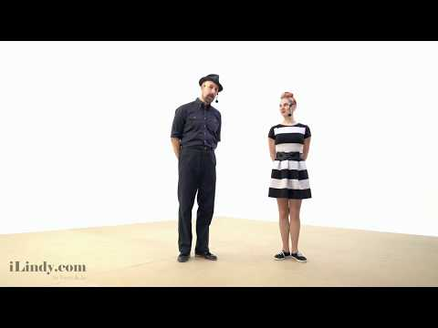 How to Swing Dance for Beginners  - Part 1: 6 Count Footwork