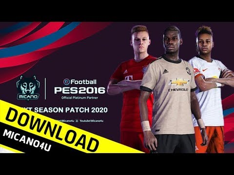 PES 2016 Next Season Patch 2020 - Download & Install (PC/HD)