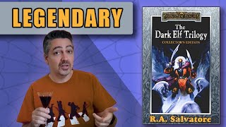 The Dark Elf Trilogy | R.A. Salvatore | Black Manhattan